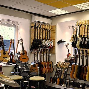 Музыкальные магазины Заокского